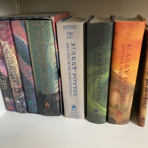 Harry Potter Series Books Complete Set Hardcover for Sale in Tampa, FL