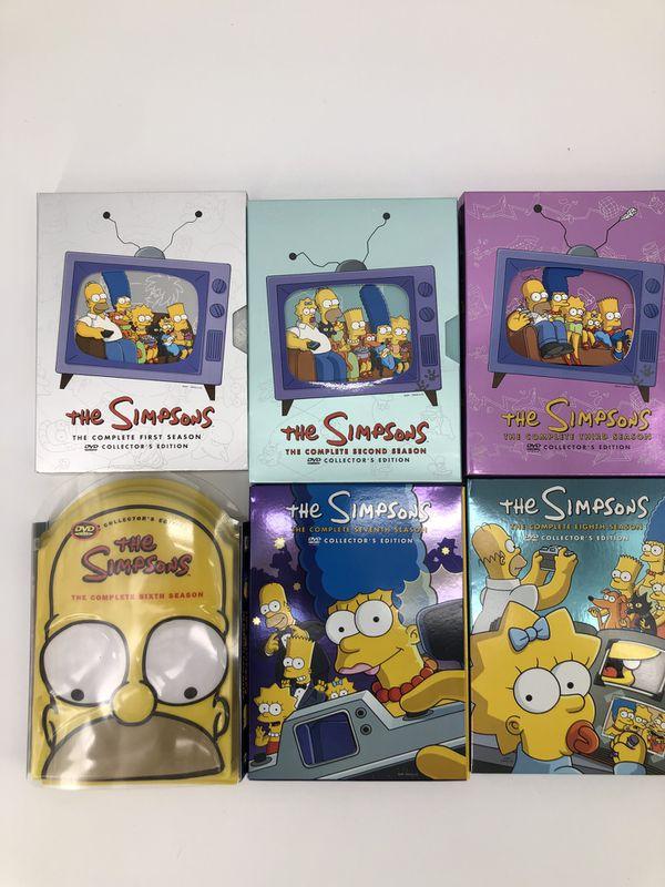 The Simpsons DVD Lot Season 1-10