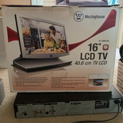 16in LCD TV Dual Hinged Tv for Sale in Houston,  TX