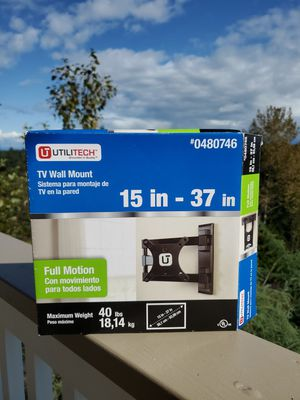 UTILITECH TV WALL MOUNT 15-37 in for Sale in Tacoma, WA