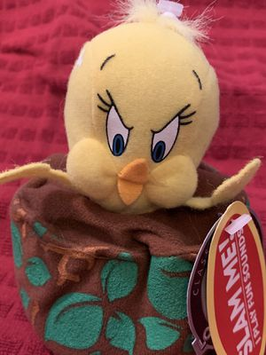 Applause Tweety Bird Looney Tunes Collectible Plush Stuffed Animal Doll! for Sale in Santa Clarita, CA