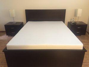 Queen 4 piece bedroom set for Sale in Sunnyvale, CA