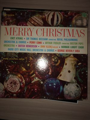 Vintage Christmas Record for Sale in The Woodlands, TX