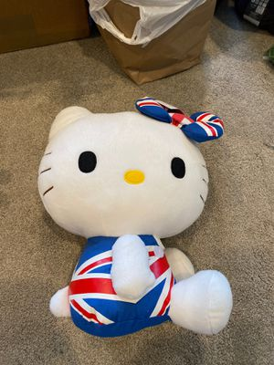 Union Jack British Hello Kitty for Sale in Kent, WA