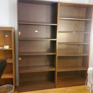 2 Bookshelves (larger ones) $30 total OBO for Sale in Pembroke Pines, FL