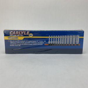 Carlyle NAPA 12pc Socket Set - SSD14012 for Sale in Boca Raton, FL