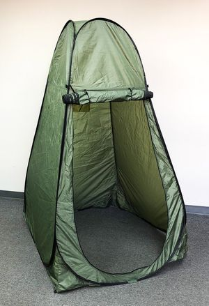 "New $30 Portable Camping Hiking Pop Up Tent Shelter Outdoor Shower Bathroom 46""x46""x77"" for Sale in South El Monte, CA"