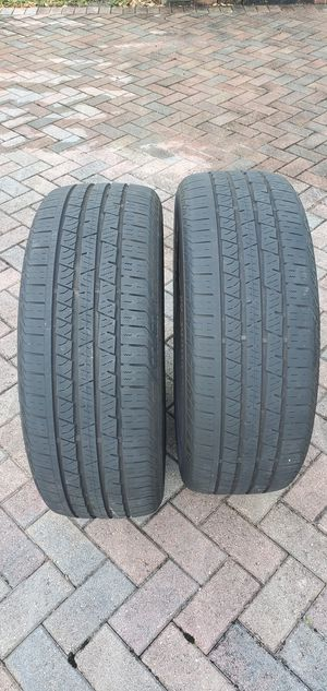 Continental SureContact tires 235/55 R19 for Sale in Boca Raton, FL