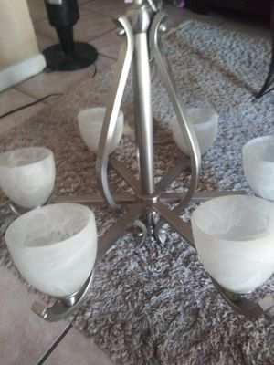 Nickel Plate chandelier for sale. for Sale in Land O' Lakes, FL