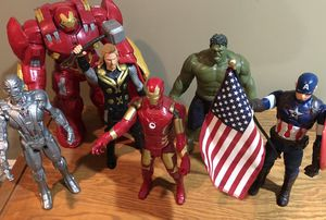 Marvel avengers Titan Hero Tech interactive figures complete set for Sale in Naperville, IL