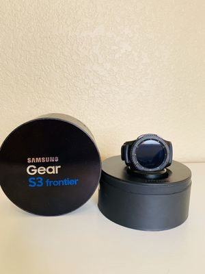 Samsung Gear S3 Frontier - Smart Watch for Sale in Hesperia, CA
