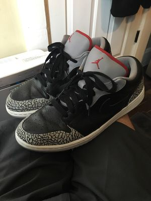"Air Jordan Retro 1 Low ""Black & Cement"" for Sale in Denver, CO"