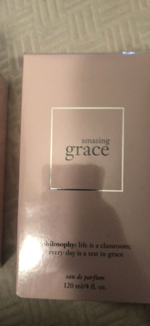 AMAZING GRACE By Philosophy EDP Perfume Spray New Sealed Box 4 fl. OZ. for Sale in Albuquerque, NM
