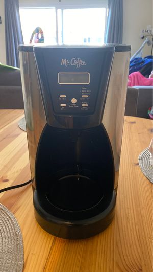 Mr coffee 12 cup programmable coffee maker for Sale in Monterey Park, CA