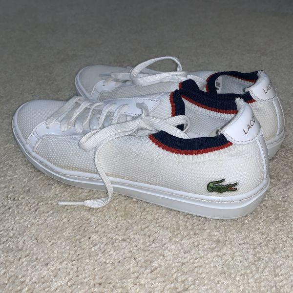 Women's Lacoste Canvas shoes size 8.5