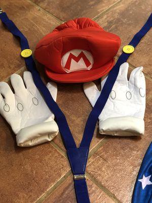 Super Mario costume items for Sale in Oakton, VA
