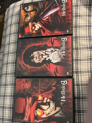 """Hellsing 3 DVD Set """"Search & Destroy"""" """"Impure Souls"""" """"Blood Brothers"""" Anime for Sale in Bellevue, WA"""