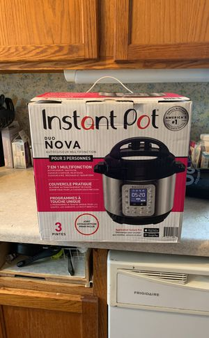 Instant Pot nova for Sale in Muskegon, MI