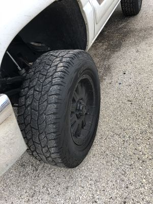"""18x9"""" Rims and tires for Sale in Ruskin, FL"""