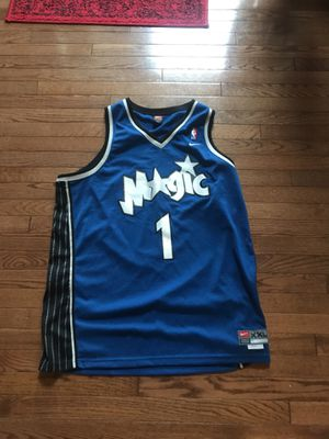 Nike x NBA stitched Tracy McGrady jersey for Sale in Chantilly, VA
