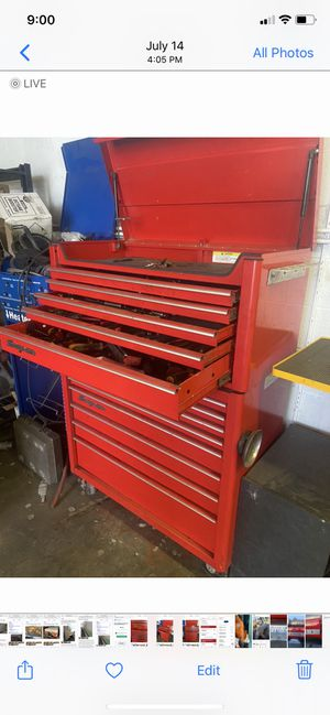 Snap-on tool box for Sale in Kennewick, WA