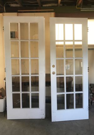 Free Interior French Doors for Sale in Everett, WA