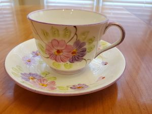 Antique Phoenix China Tea Cup and Saucer, Made in England, Floral Pattern for Sale in Duluth, GA