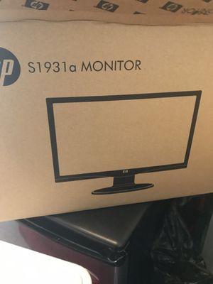 """Monitor LCD HP Widescreen de 18.5"""", Modelo S1931a. for Sale in Orlando, FL"""