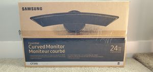 """24"""" Curved Samsung Monitor for Sale in Dallas, TX"""