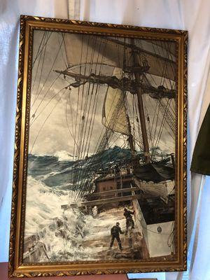 Rising wind print in frame for Sale in Spokane, WA