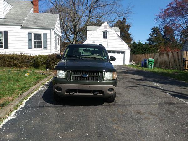 2002 Ford Explorer truck sports Trac 4 X4