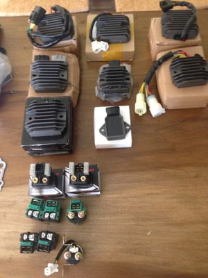 New Rectifiers Regulators starter Relays for motorcycles and ATVs for Sale in Houston, TX