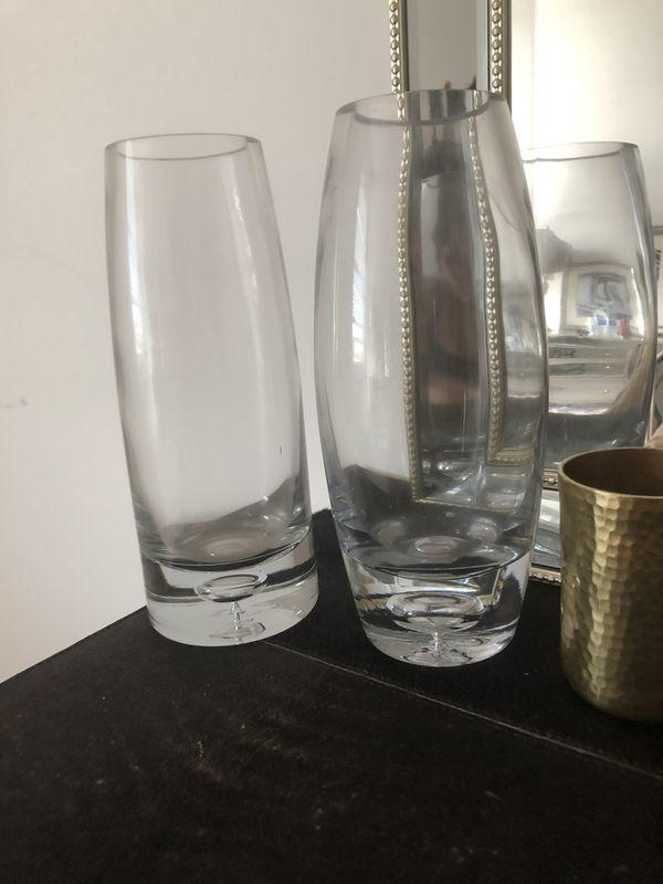 Two Class Vases