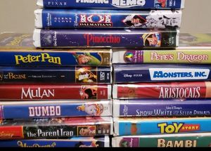 Walt Disney VHS bundle for Sale in Willow Springs, IL