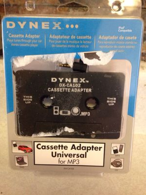 Cassette Adapter Universal for mp3 for Sale in Mesa, AZ