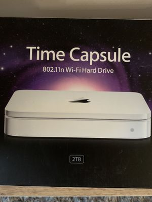 Apple time capsule router 2TB for Sale in Charlotte, NC
