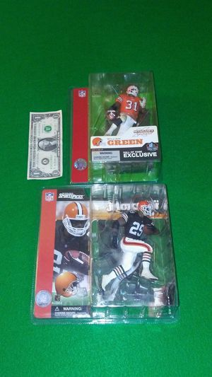 Cleveland Browns NFL action figures for Sale in Cleveland, OH