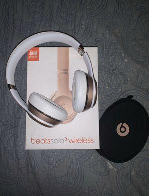 Beats Solo 3 Wireless Headphones for Sale in Lodi, CA