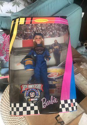 NASCAR 50th anniversary Barbie for Sale in Fresno, CA