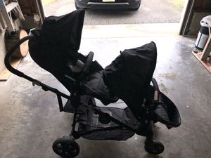 Baby trend sit and stand double stroller for Sale in Midlothian, VA