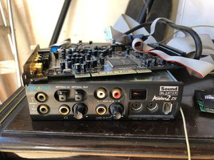 Sound blaster audigy 2 ZS working , great condition for Sale in Wallingford, CT