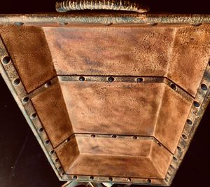 Beautiful antique style decorative tray Mod L, L33xD17xH5 inch for Sale in Chandler, AZ