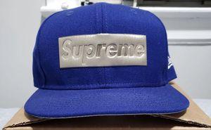 Supreme metallic box logo 7 3/8 for Sale in Queens, NY