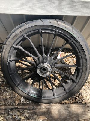Harley Davidson Street Glide Front Wheel for Sale in Canyon Lake, TX