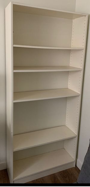 White Bookshelf for Sale in Kent, WA