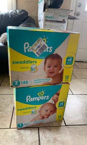 Pampers diapers size 1 and 2 for Sale in Arvada, CO
