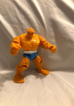 Fantastic Four - The Thing - Series 1 - Loose Action Figure Toy Biz 1994 Vintage for Sale in Menifee, CA