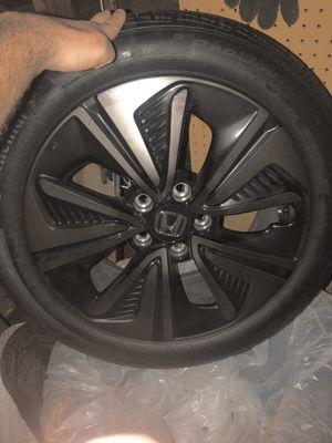 Honda Oem rims and tires for Sale in Stockton, CA