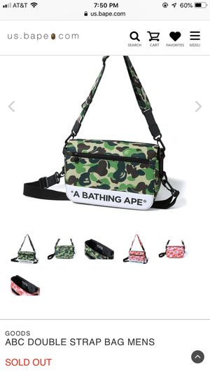 ABC Double Strap Men's. BAPE for Sale in Cleveland, OH