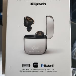 Klipsch T5 true wireless buds for Sale in Rancho Cucamonga, CA